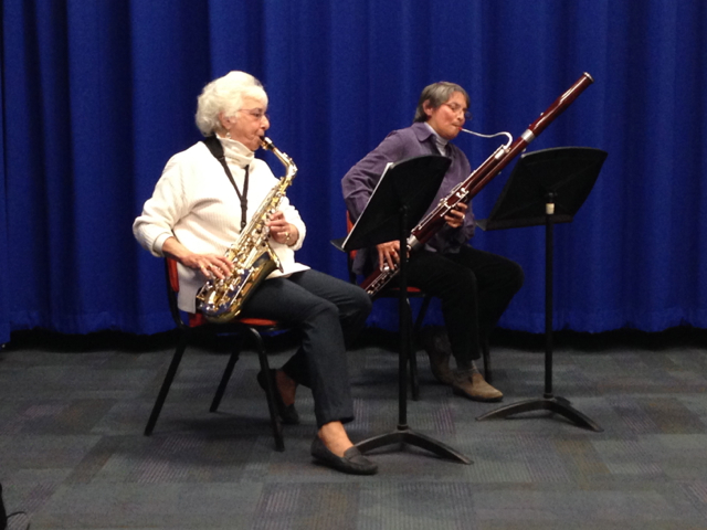 Alto Sax & Bassoon duo